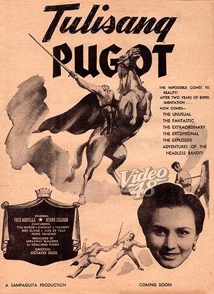 Tulisang Pugot (1953) DVD