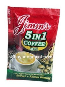 Jimm�s 5 in 1 Coffee (21g x 12 sachets)