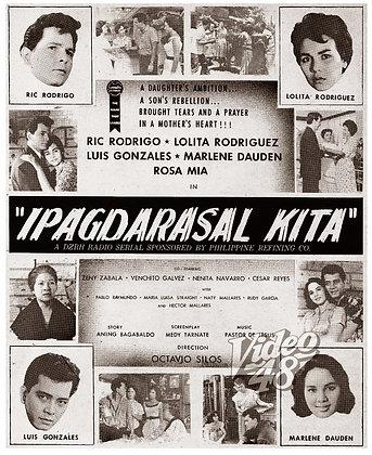 Ipagdarasal Kita (1960) DVD