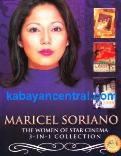 Maricel Soriano 3-in-1 Collection DVD