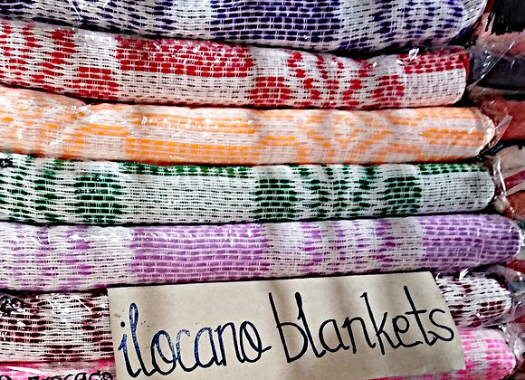 Ilocos Inabel Woven BROCADE Blanket (Colored-XLKing Size: 100in x 128in)