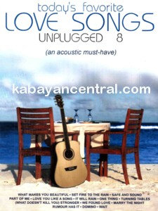 Today's Favorite Love Songs Unplugged 8 CD - Various Artists