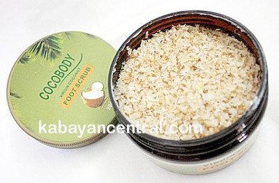 Cocobody Virgin Coconut Foot Scrub (300g)