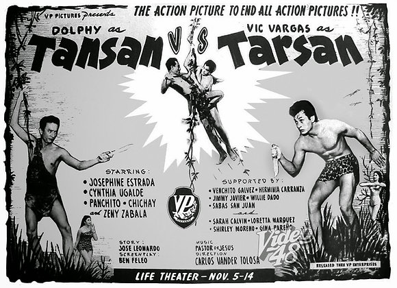 Tansan Vs Tarsan (1963) DVD