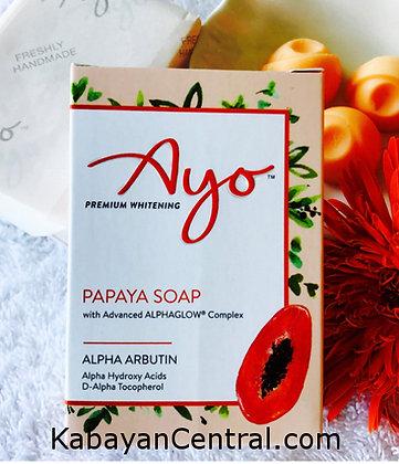 Papaya Ayo Premium Whitening Soap (110g)
