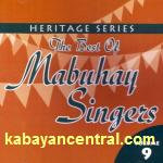 The Best of Mabuhay Singers Vol.9 CD - Mabuhay Singers