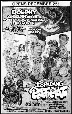 Espadang Patpat (1990) DVD
