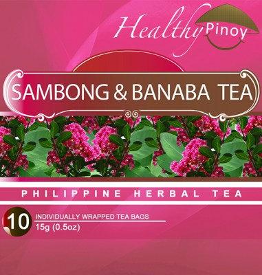 Healthy Pinoy Sambong & Banaba Tea (10 x 1.5g tea bags)