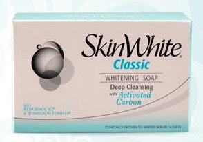 SkinWhite Deep Cleansing with Activated Carbon Soap   (2x125g)