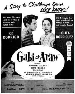 Gabi at Araw (1957) DVD