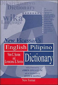 New Vicassan's English-Pilipino Dictionary (Softcover)