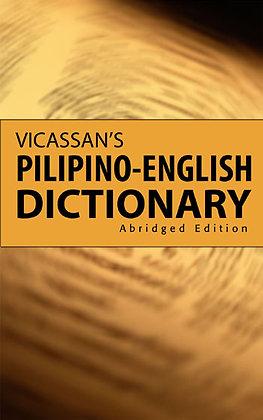 Abridged Vicassan'S Pilipino-English Dictionary