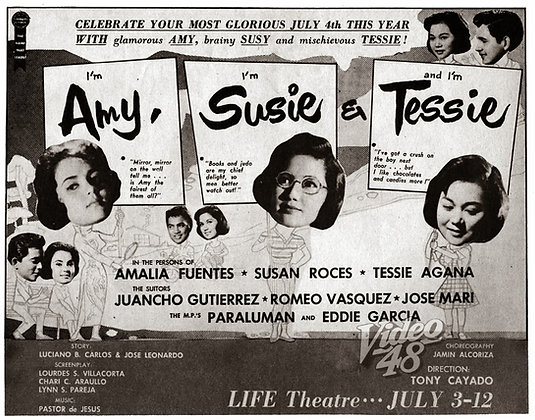 Amy, Susie and Tessie (1960) DVD
