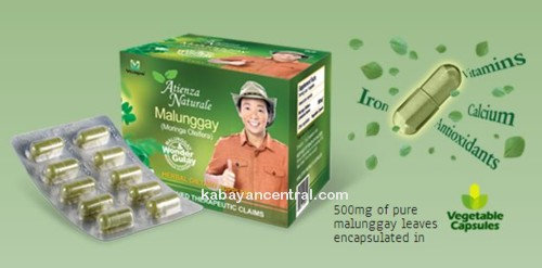 Atienza Naturale Malunggay (100x500mg capsules)