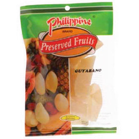 Philippine Brand Dried Guyabano (100g)