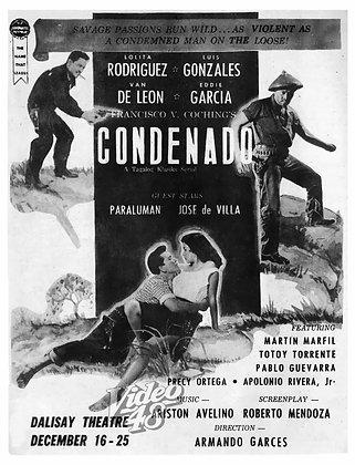Condenado (1958) DVD