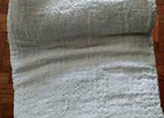 Ilocos Inabel Woven Blanket (White Color-Double Size)