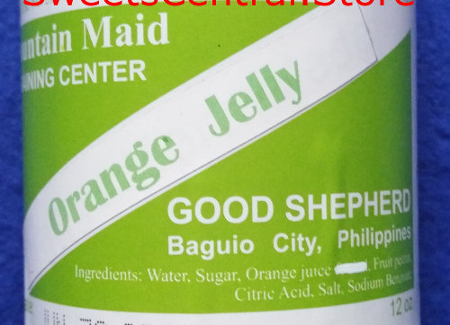 Orange Jelly (12oz) Good Shepherd