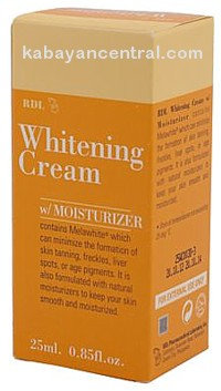 RDL Whitening Cream with Moisturizer (25ml)