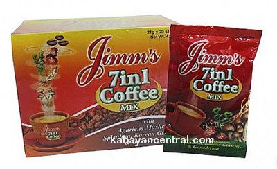Jimm�s 7 in 1 Coffee (21g x 12 sachets)