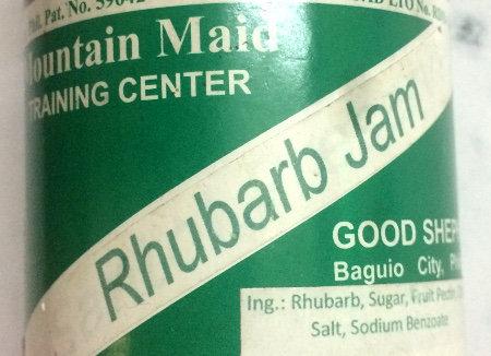 Rhubarb Jam (8oz) Good Shepherd