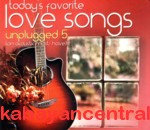Today's Favorite Love Songs Unplugged 5 CD - Various Artists