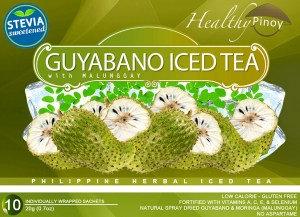 Healthy Pinoy Guyabano Iced Tea (20g x 10 sachets)