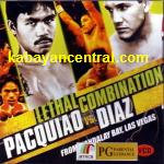 Pacquiao vs Diaz VCD