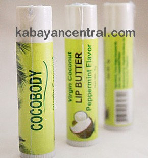 Cocobody Virgin Coconut Lip Butter in Tube (2x5g)