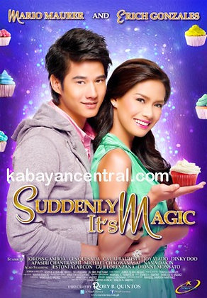 Suddenly It's Magic DVD