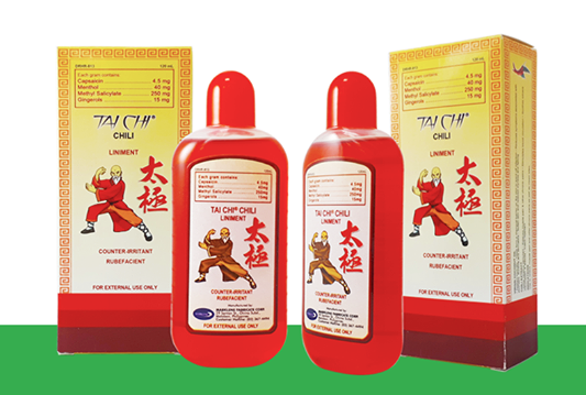 Tai Chi Chili Liniment (120ml)