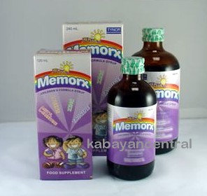 MEMORX IQ Plus Syrup Regular (120ml)