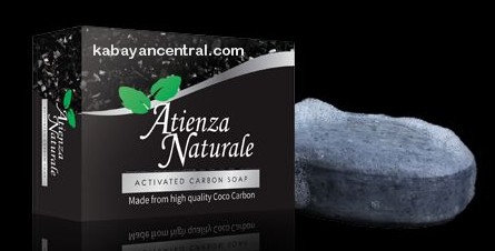 Atienza Naturale Activated Carbon Soap (2 bars)