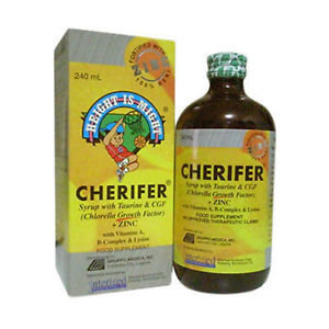 Cherifer Syrup with Zinc (240 ml)