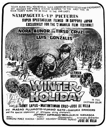 Winter Holiday (1972) DVD