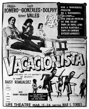 Vacacionista (1956) DVD