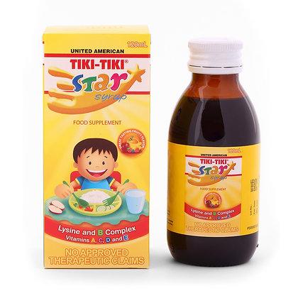 Tiki-Tiki Star Syrup (120ml)