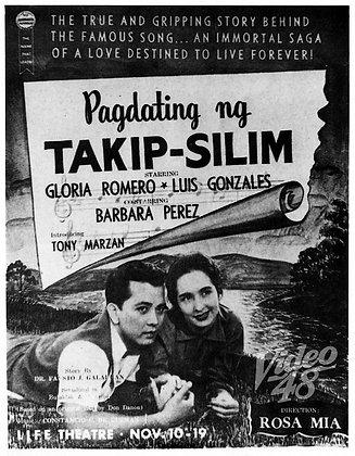 Pagdating ng Takipslim (1956) DVD
