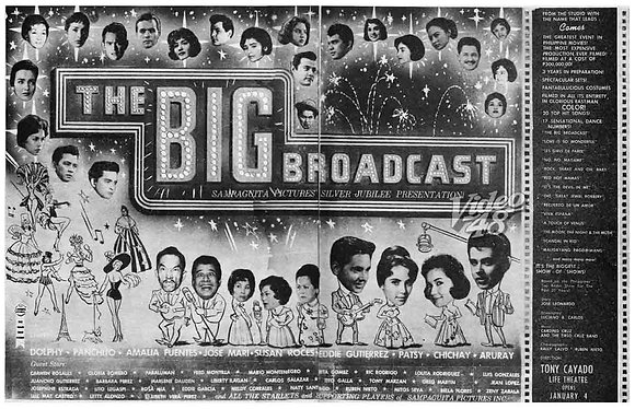 The Big Broadcast (1962) VCD