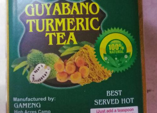 Guyabano Turmeric Tea Powder (420g)