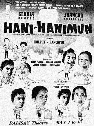Hani-Hanimun (1961) DVD