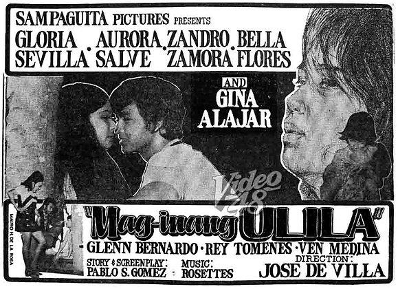 Mag-inang Ulila (1971) DVD