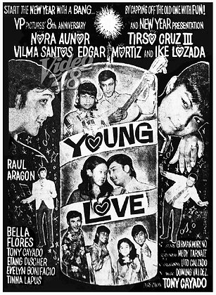Young Love (1970) DVD