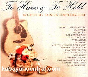 To Have & To Hold (Unplugged) CD - Various Artists