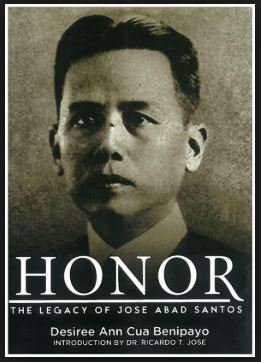 Honor – The Legacy of Jose Abad Santos Book