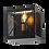 Thumbnail: Arbotante Cuadro Rejilla E27 Negro NG-ACR-01
