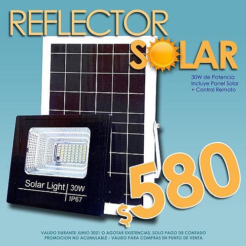 Copia de SOLAR Reflector LED+Panel Solar 30w HIGRS-3030