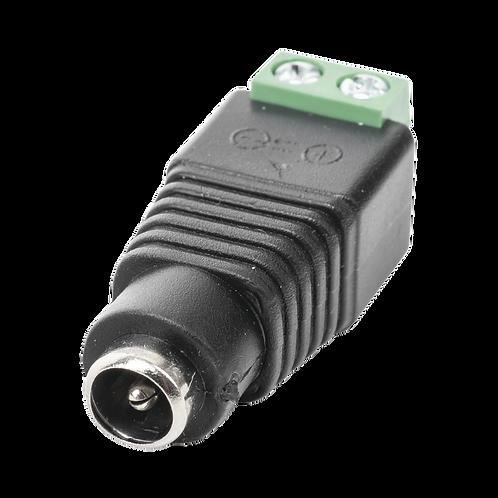 Plug Hembra DC12v Jack 3.5mm SY-JR53