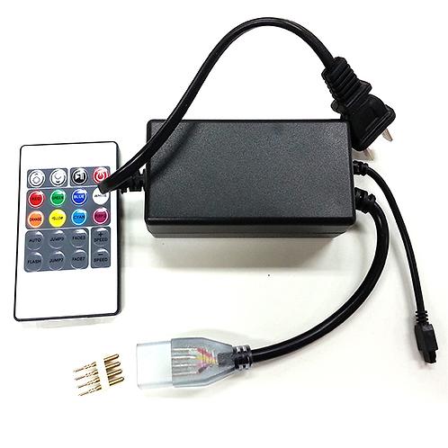 Eliminador para Manguera LED RGB 127v JLPM-01