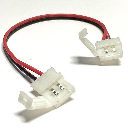 CABLE CON DOBLE CONECTOR 3528 8MM S00190